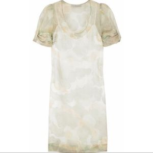 Stella McCartney Cloud print shift dress